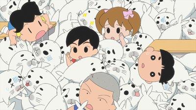 お待たせしました!「少年アシベ GO!GO!ゴマちゃん」、今日から久々の新作がスタートだよ!今日のおはなしは「アシベの参