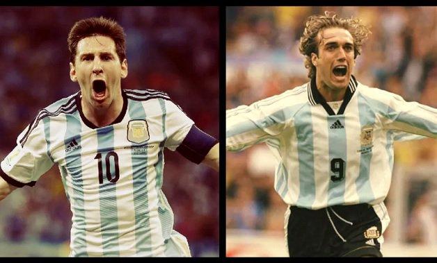 The Celebration of Two Legends: Messi & Batistuta. https://t.co/D3KcQOb9wS https://t.co/q1aCWGNyH8