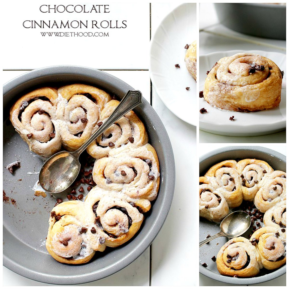 : CHOCOLATE CINNAMON ROLLS 😍