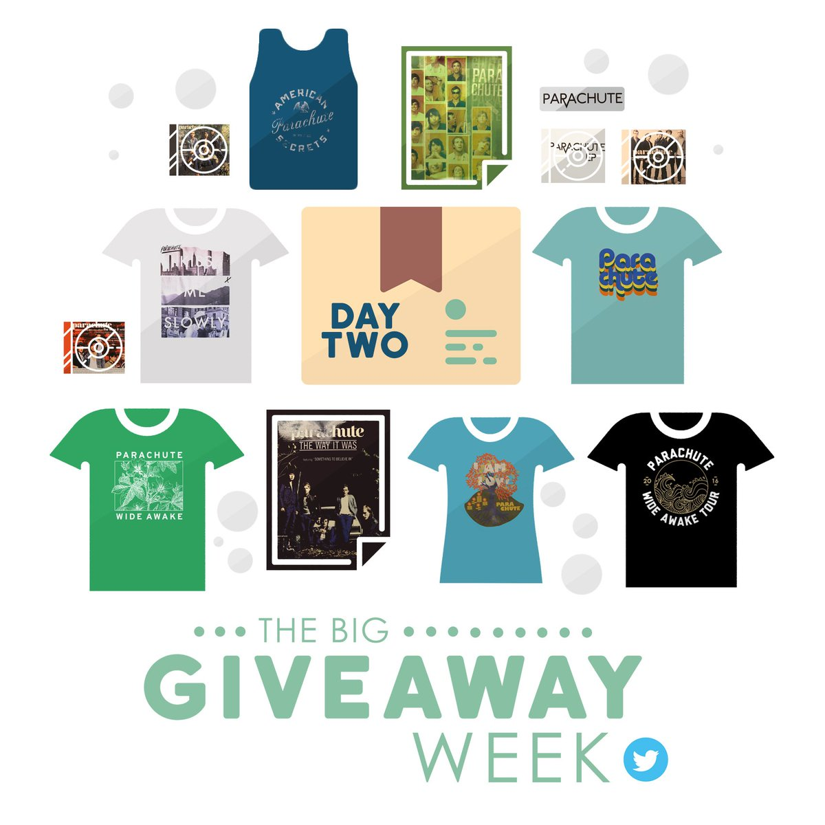 We're giving away a box of stuff for The Big Giveaway Week. RT this for a chance to win everything pictured here! https://t.co/xC5nK4x3dW