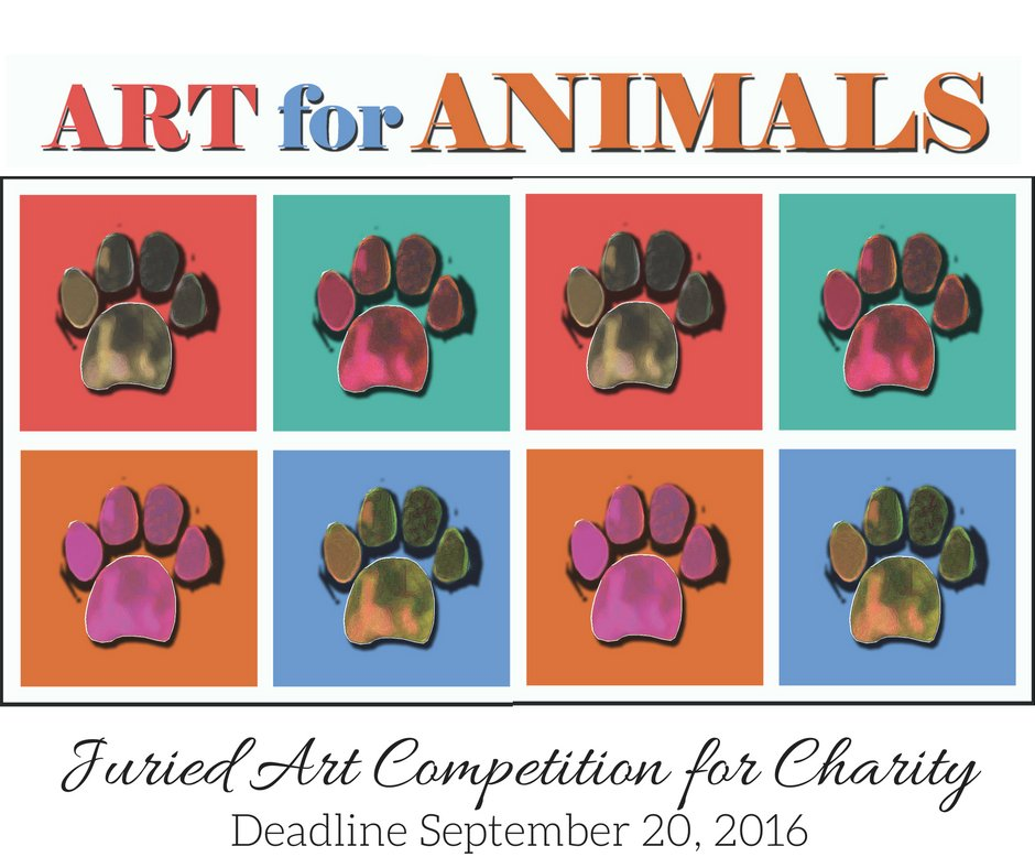 Art for Animals Juried Art Competition for Charity - DEADLINE SEPTEMBER 20, 2016 https://t.co/XPik073yMt https://t.co/LtJH4eXwGb