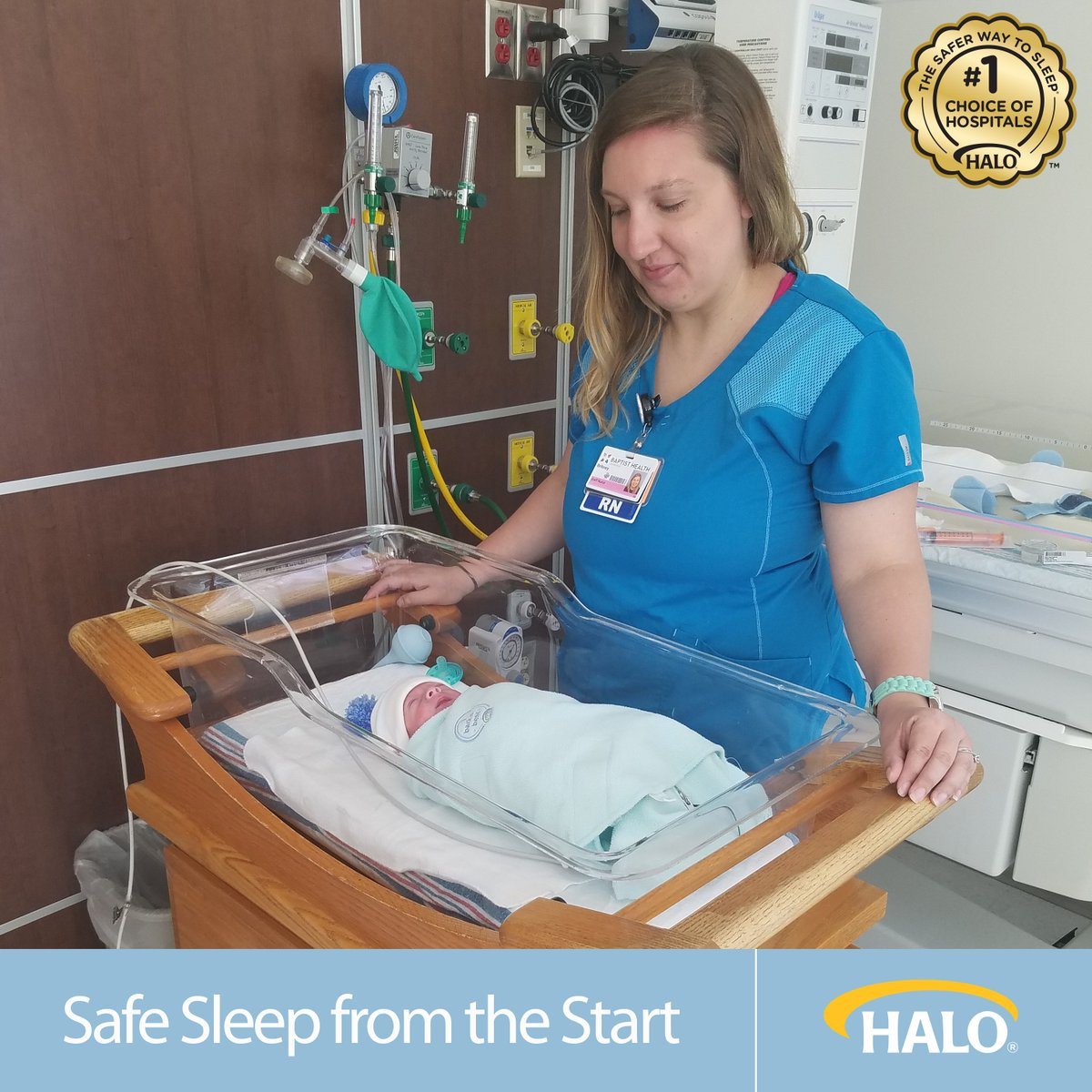 Over 1,400 hospitals use the #HALOSleepSack. The safest way for baby to sleep from the start https://t.co/cbQDHfyu2o https://t.co/0x4izCMO2f