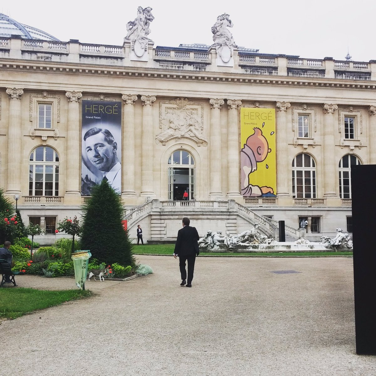 The clock is running ! #ExpoHergé @GrandPalaisRmn https://t.co/iDHVskQrhr