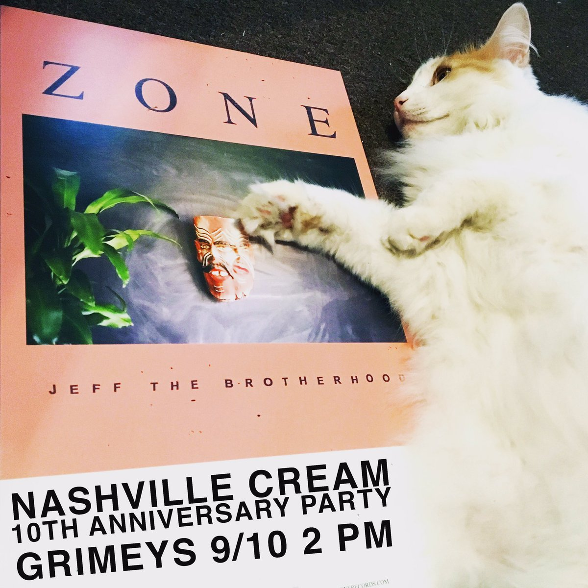 rt to win 2 tix to @nashvillecream's bday party this sat. we'll pick a winner at 5pm tomorrow good luck https://t.co/fBGaIEUUrn