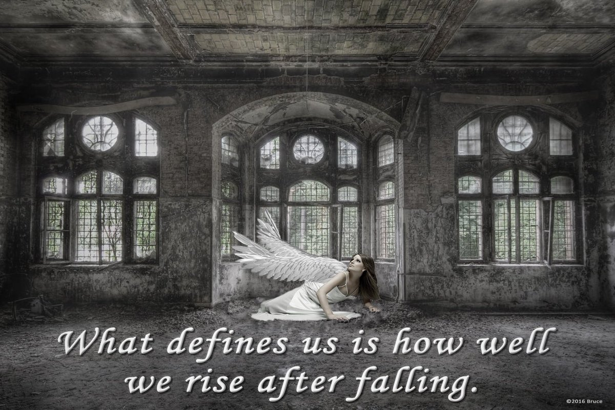 What defines us is how well we rise after falling. https://t.co/3NSgbZdPSM