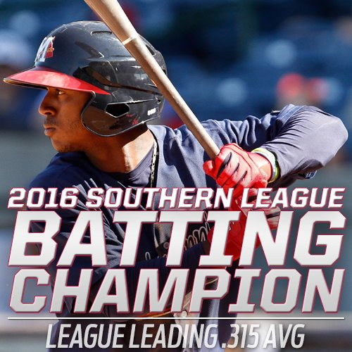 #MBraves Ozzie Albies @albiesozhaino wins Southern League Batting Title #MBraves https://t.co/ZoJmEmCGdr https://t.co/fdwryeJdDt