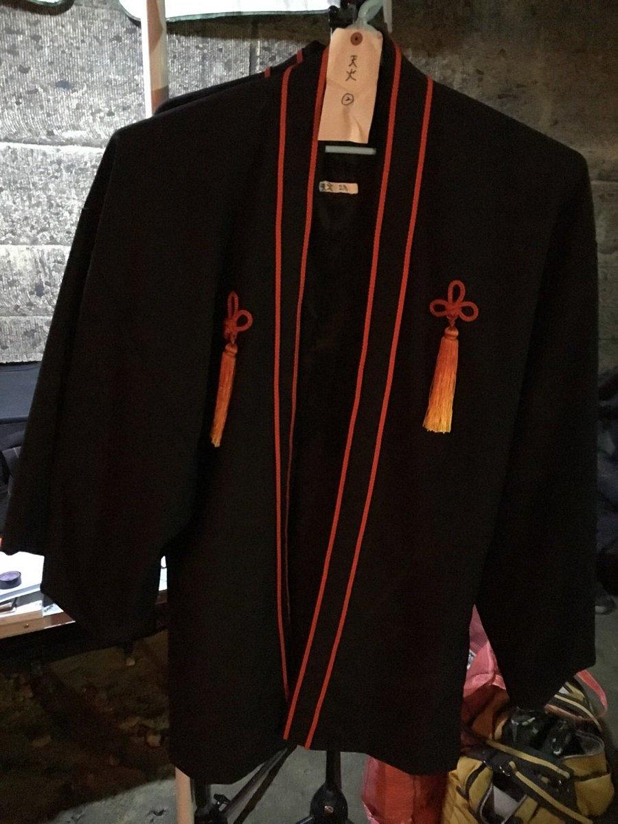 天火の衣装、発見!実際にこれを着た福士さんは、まるで二次元から現れたかのようなイケメンでした...!#曇天に笑う