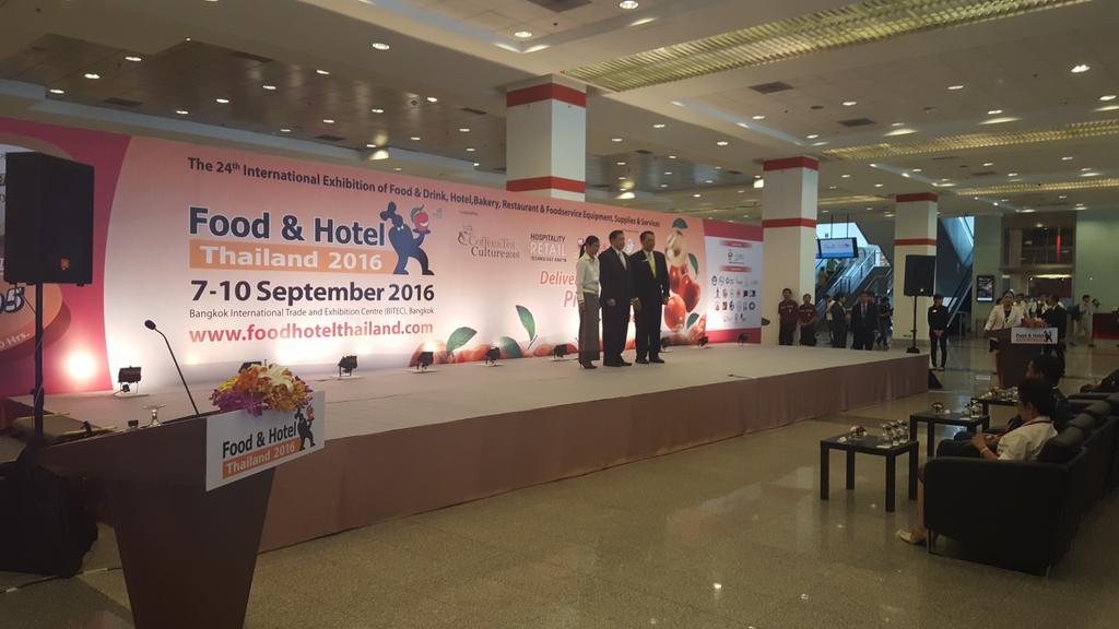test Twitter Media - Deputy Prime Minister of #thailand opening the 24th #foodandhotelthailand TODAY! #fht #bitec #food #hotel #allworld https://t.co/v2sosluRQ2
