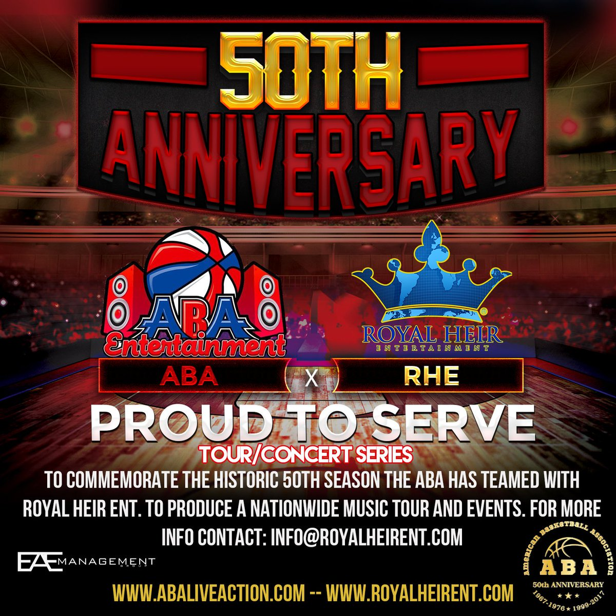 Get ready for an awesome announcement regarding the first date of the @ABAMedia_Ent x @RoyalHeirEnt #basketball tour https://t.co/NJTBjUOUQJ