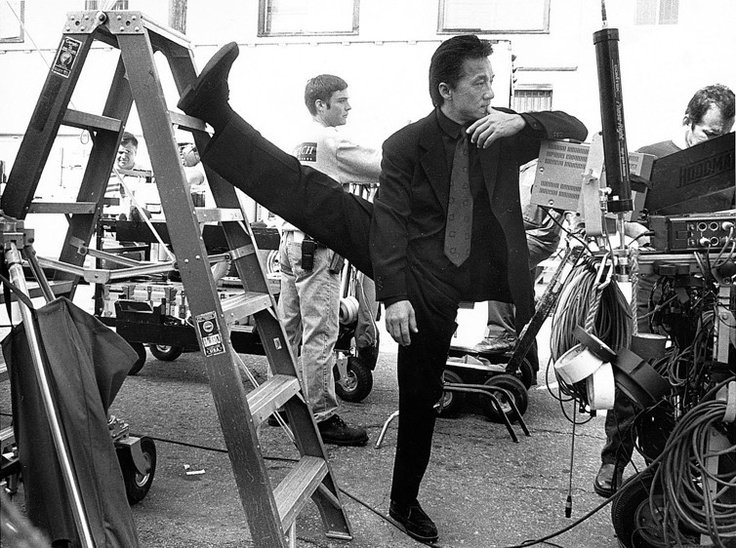 Джеки Чан насъемках фильма «Час Пик» (1998) https://t.co/SydScI5rFS