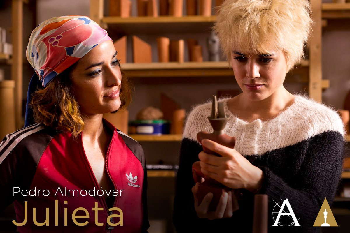 Julieta, de Pedro Almodóvar, es la representante española en la 89 edición de los Premios Oscar. ¡Mucha suerte! https://t.co/Az0Nxj0SJn