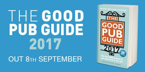 1 day to go!Who will make #GoodPubGuide2017 awards list?Find out on website tomorrow morning:https://t.co/C5br1QAZva https://t.co/8KWFjH7iaA