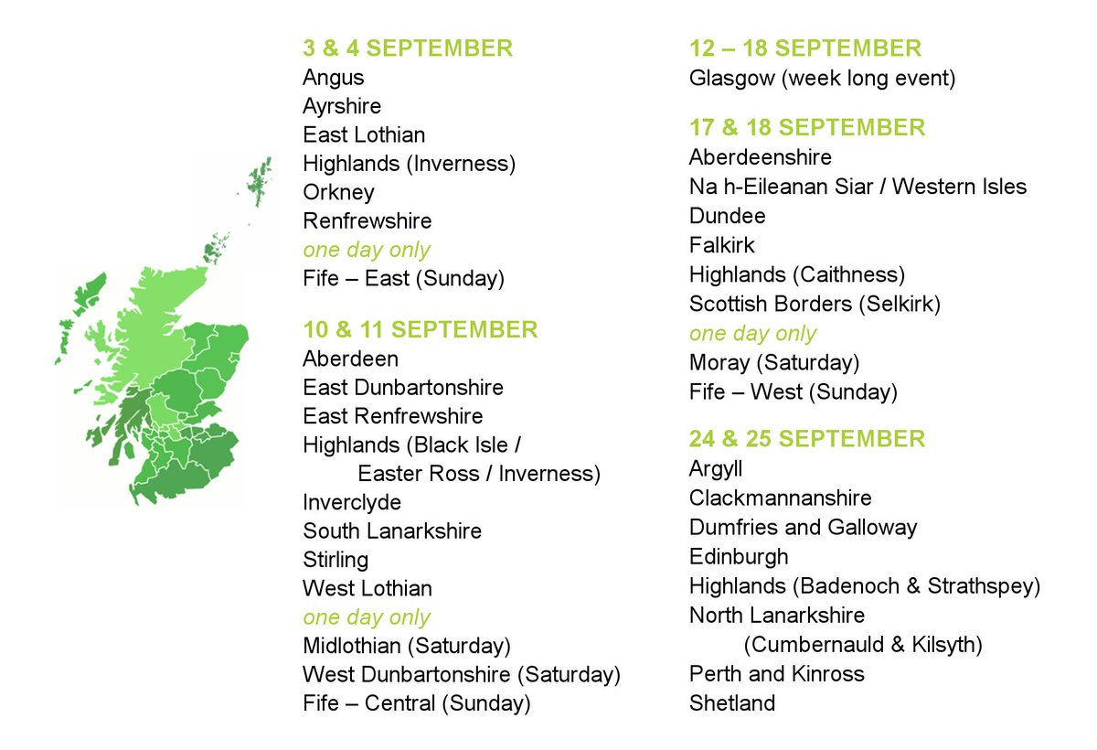 Where and when are Doors Open Days events around the country? Find out here! #DOD2016 #Scotland #events #IAD2016 https://t.co/ymwkmmRS6s