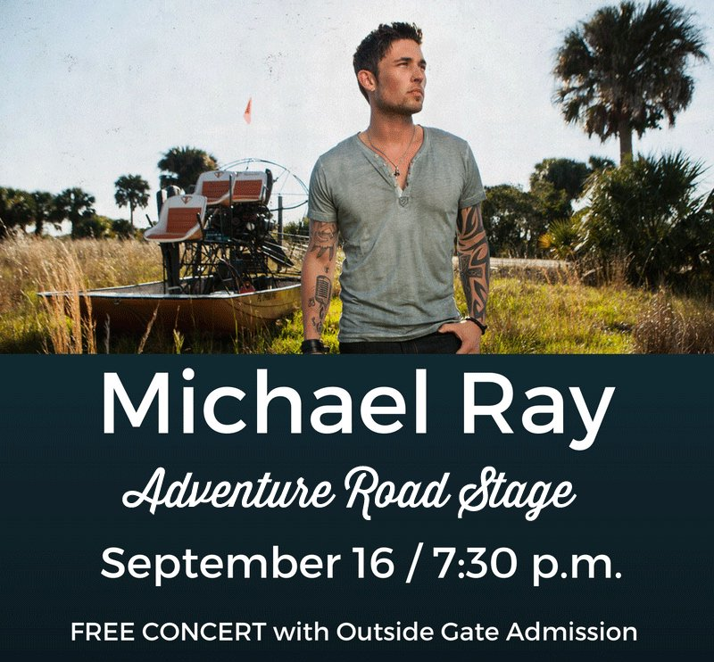 Want to meet rising country music star @Michaelraymusic?  Follow, @okstatefair  and RETWEET this post! https://t.co/8oITfbKWhT