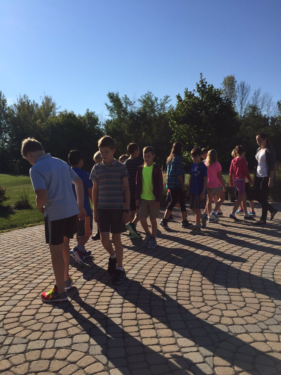 test Twitter Media - We are back!  Walking the labyrinth on the first day of school!  Wonderful start to the year. https://t.co/ZAMowEoKO0