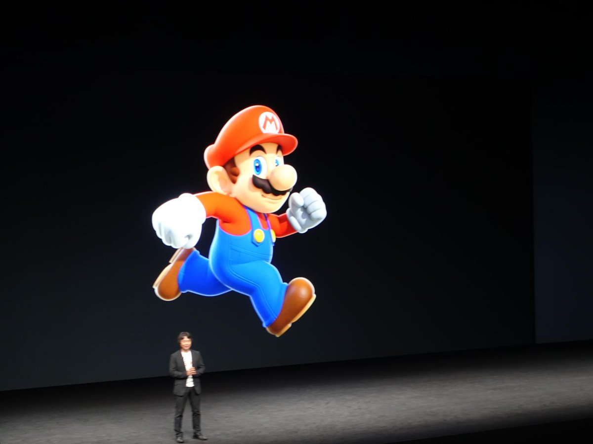 Super Mario Run is coming to iOS! You read that correctly, Mario on iOS. This is not a drill. https://t.co/Dwbx5j6bpV