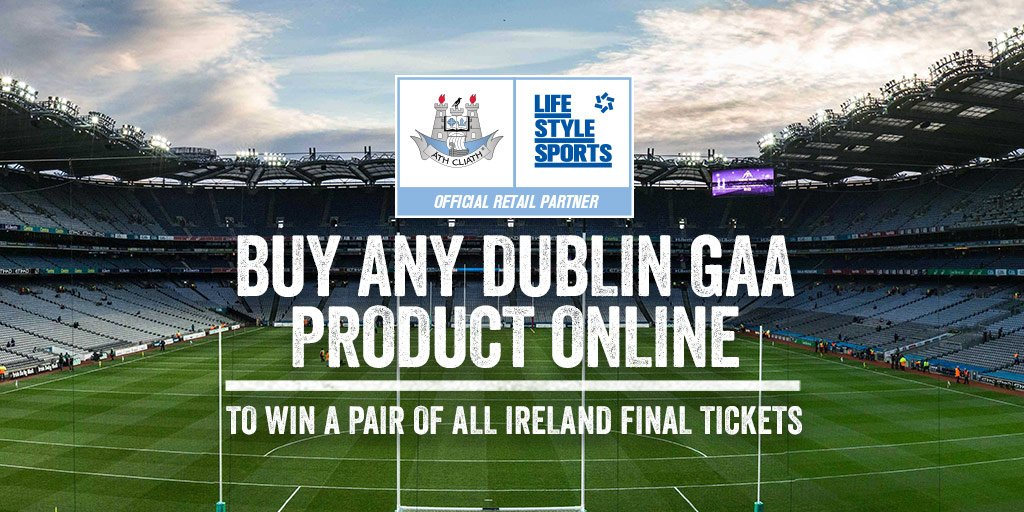 COMP: Join the boys in blue & you could be in Croke Pk to cheer them on #UpTheDubs Shop now https://t.co/xl5Y6PeB1O https://t.co/NOOCAy8Co5
