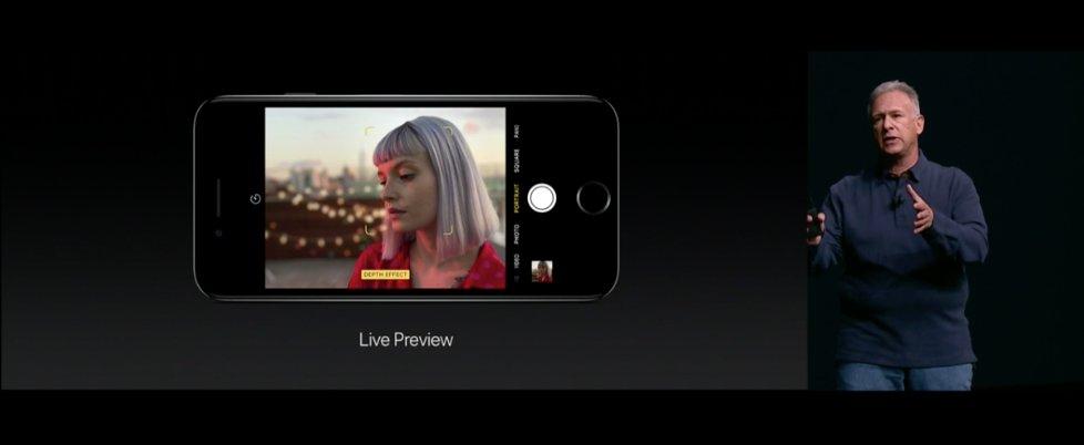 ลูกเล่นสำคัญของ #iPhone7TH Plus คือการถ่ายภาพ Live Preview ซึ่งจะเลือกละลายหลังหลังจากถ่ายภาพได้ #AppleEvent https://t.co/u9Erb42pB8