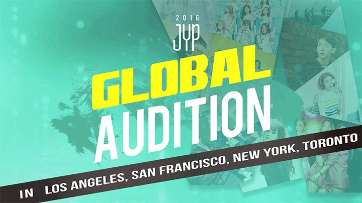 Ready to debut? @JYPAUDITION is coming to a city near you: https://t.co/lm61KCI8Io https://t.co/jKdhdtYWrn