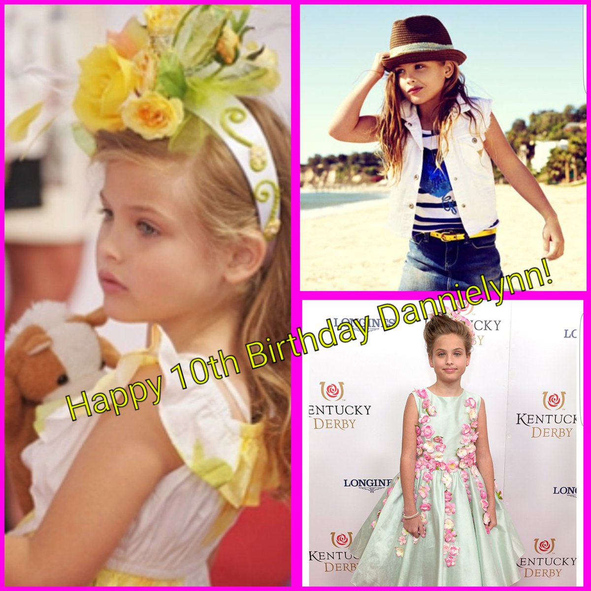 Happy 10th Birthday Dannielynn!  #DannielynnIs10