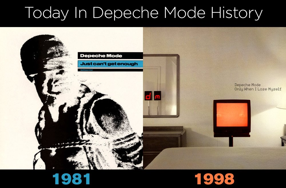 Today In #DepecheMode History. https://t.co/X9csIiaQ6y
