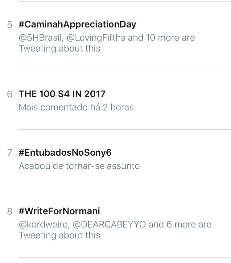 #CaminahAppreciationDay