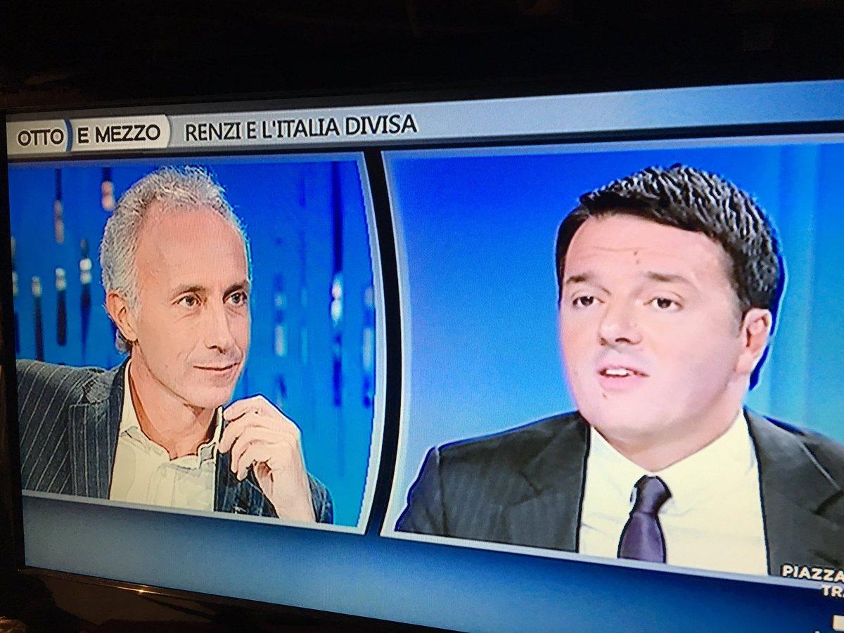 Grazie Renzi, mi hai definitivamente convinta a votare No! #ottoemezzo #IoVotoNO https://t.co/xaGd2rIVd2