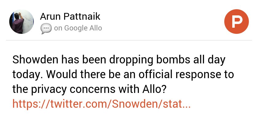 My thoughts on Google Allo on @ProductHunt https://t.co/1nveeQ7q7l https://t.co/dr8T8hZbBv