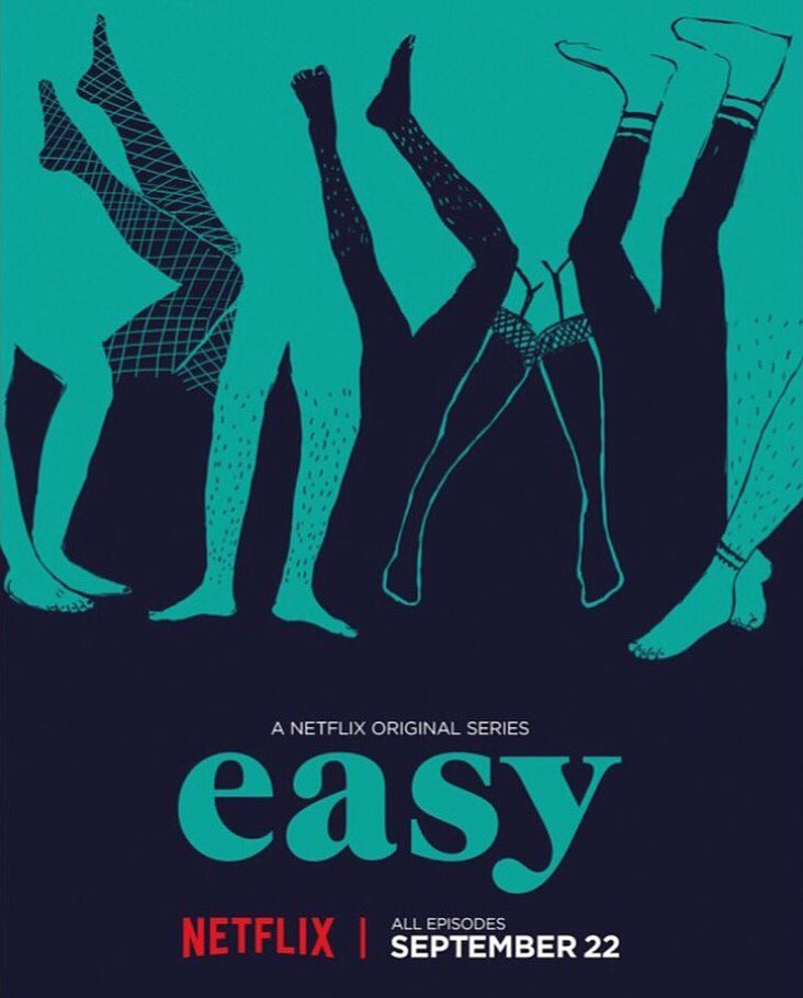 EASY is out now on @netflix! https://t.co/CKZa2q5yez
