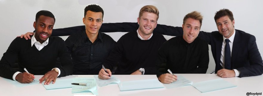 Would save time if we did group signings... juss sayin.  Gratz Danny :)  #COYS https://t.co/4IC65Zosvn