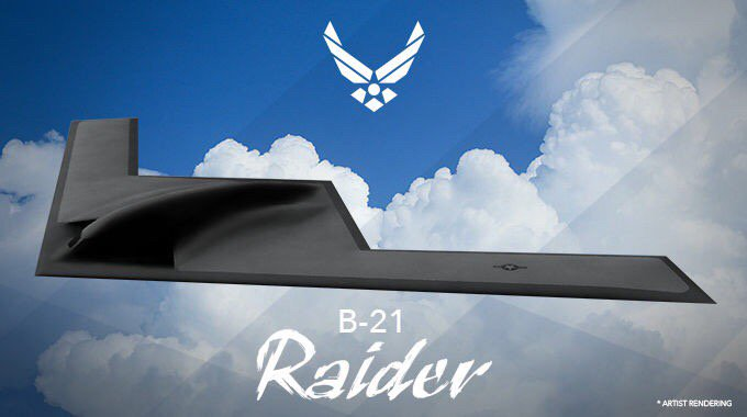 The Air Force's next long-range bomber has a name: The Raider