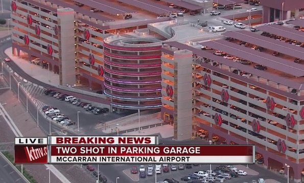McCarran airport shooting: Ex boyfriend ambushes former girlfriend and new lover