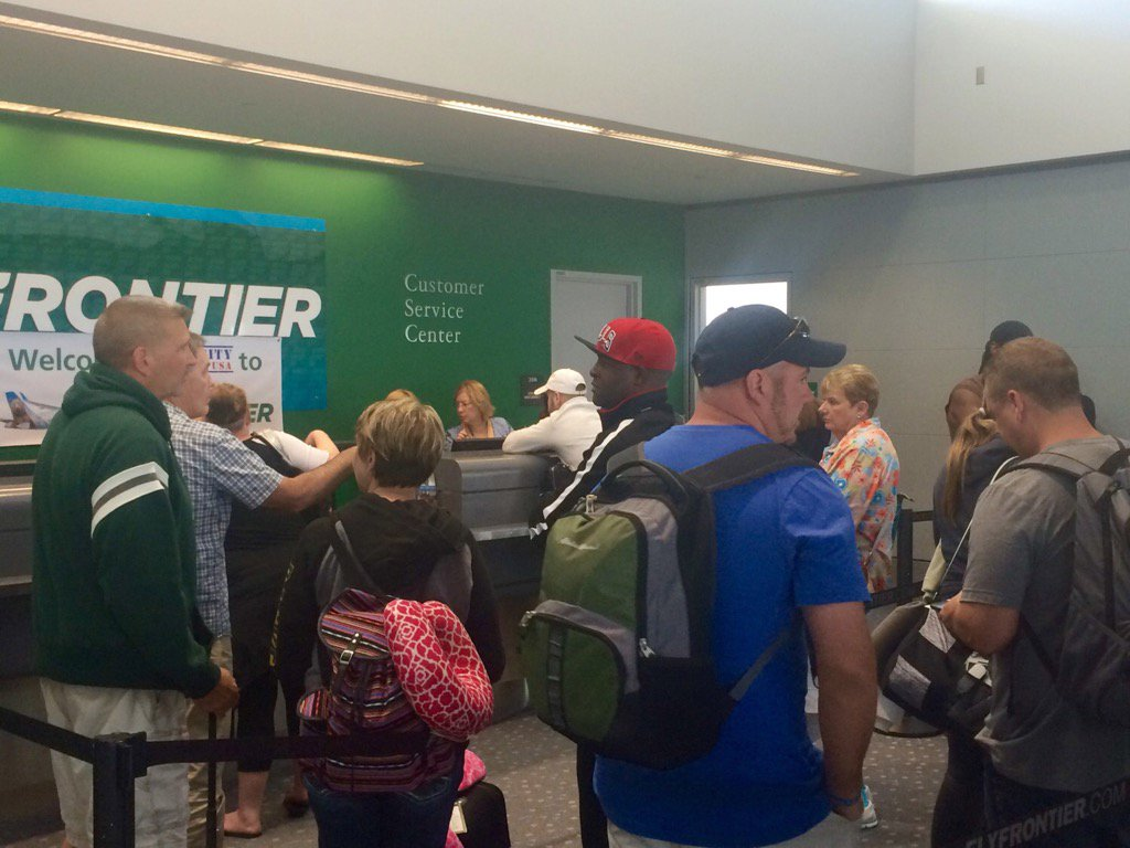 Frontier Airlines Flights Return To Normal Schedule After Delays « CBS Denver