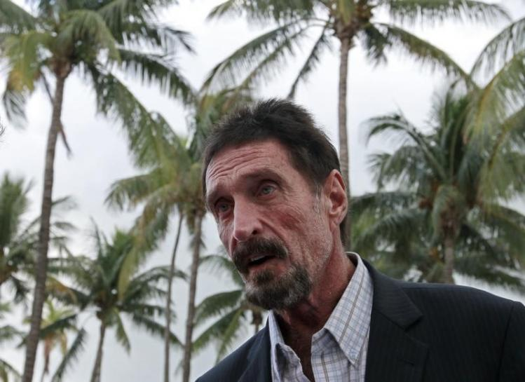 McAfee's MGT sinks 21 percent after NYSE refuses share listing