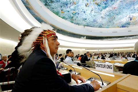 Standing Rock Sioux takes pipeline fight to United Nations