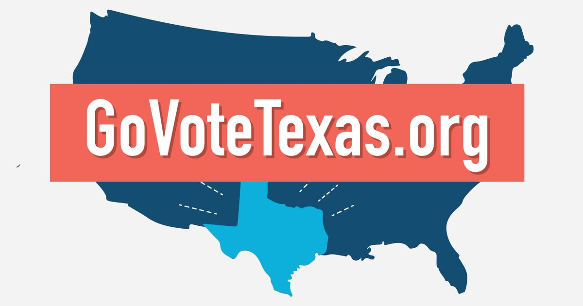 Texas isn't a red state, it's a non-voting state. That's why we're doing something about it: https://t.co/YyoRvX0Inl https://t.co/INOoeRmaES
