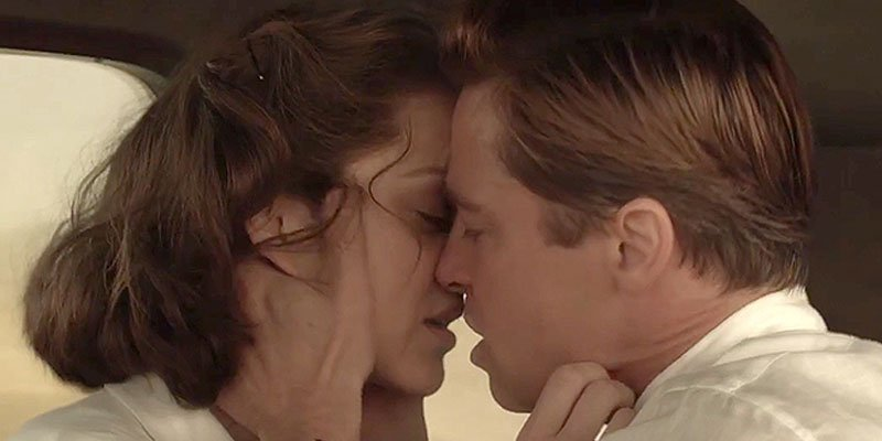New trailer for Brad Pitt's film Allied features steamy scenes with Marion Cotillard