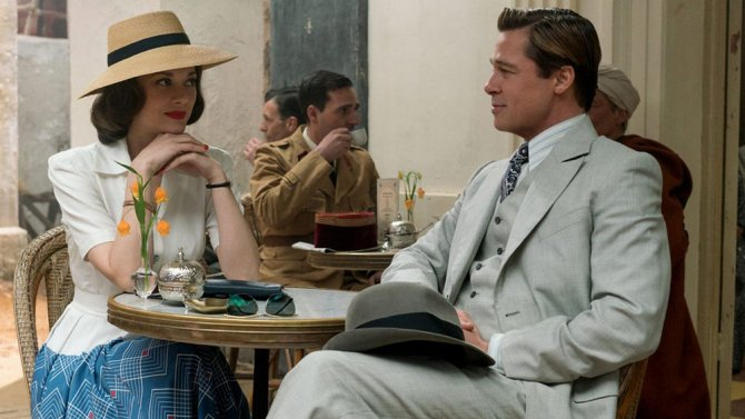 Watch the latest trailer for Brad Pitt and Marion Cotillard's WWII romance,