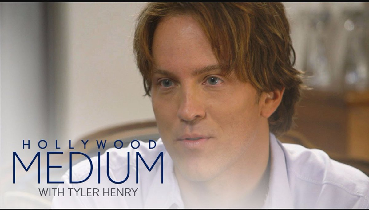 Strange things happen Wednesday when I sit down w @tyhenrymedium on @e_entertainment 8pm, EST https://t.co/ETsl1vP83l