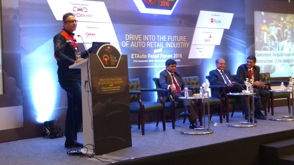 Vikram Pawah, MD, @Harley-davidson India at #etautoretailforum speaks on the customer retention and aquisition https://t.co/iCtrJk5p5B