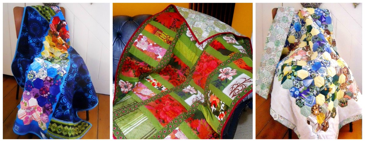 Time to get cosy now Autumn is here https://t.co/GGWIcRx9Ui #vintage #Patchwork #Quilt buy or make your own! https://t.co/w3KfkFZy89