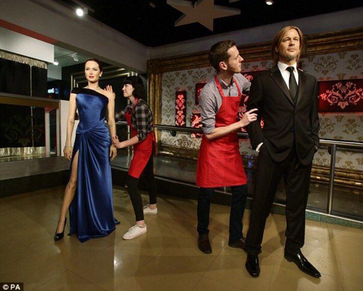 Museo de cera en Londres separa sus figuras de Angelina Jolie y Brad Pitt #siemprealdia H https://t.co/7EOi3u0Hl4