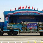 Missiles, tanks on show at Iran military parade