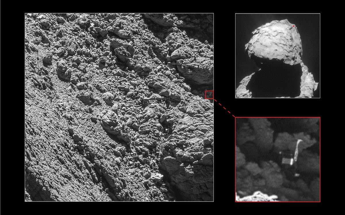 En unos días #Rosetta llegará a su final. Todos los detalles en nuestro ESPECIAL!! https://t.co/dDgeCIUOOm