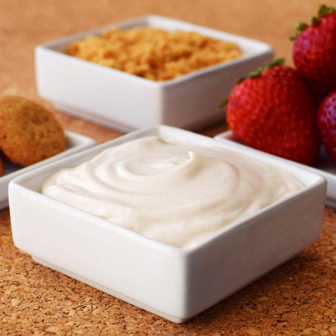 Rich, Creamy Cheesecake Dip! Yes, #dairyfree #vegan #glutenfree #recipe -> https://t.co/O6lkYZXHfJ @enjoylifefoods https://t.co/DccdTkbdq9