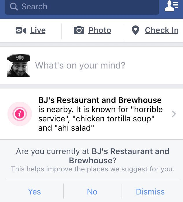As algorithms takeover, the menu does change!