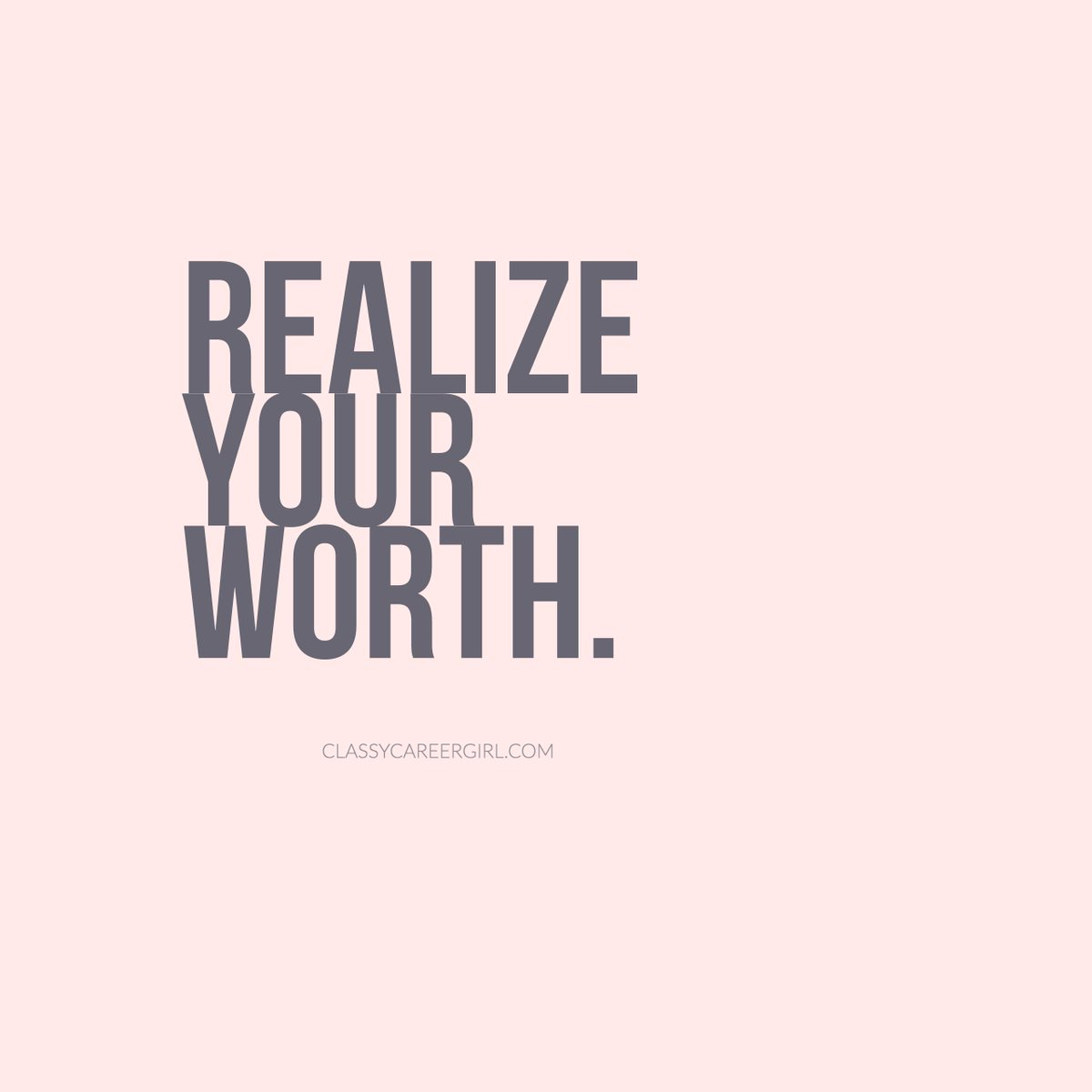 A great reminder. You are worth it. Never doubt yourself and everything that you are capable of. https://t.co/y1bWEdoqdq