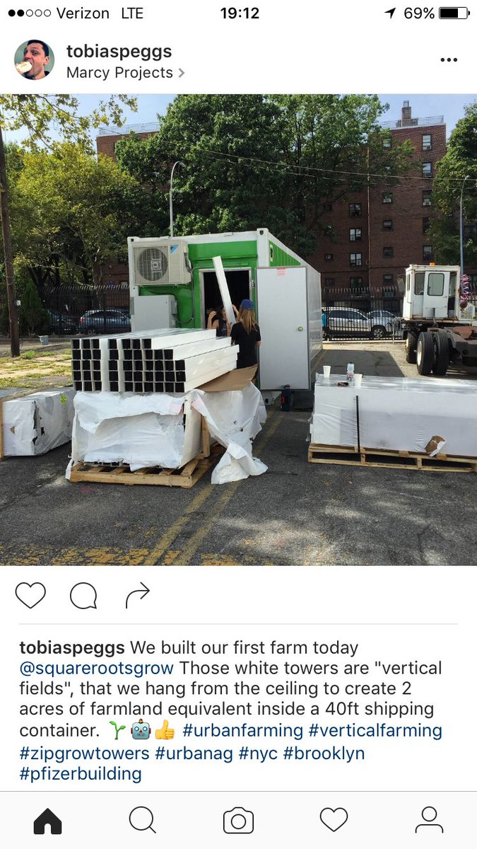 Fun in the sun @squarerootsgrow today, beginning to build out our #urbanfarm in #brooklyn