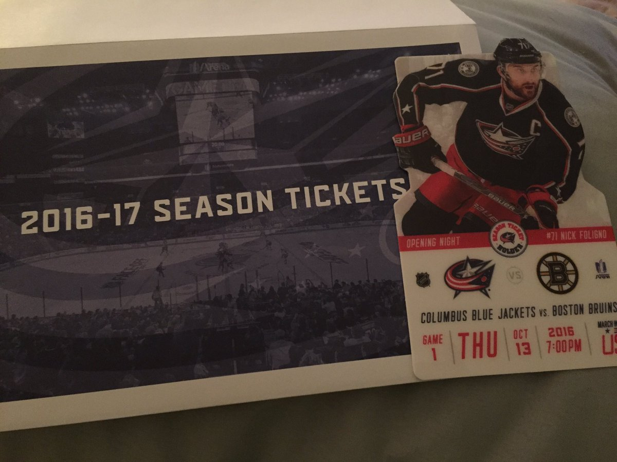 Hockey season really is upon us! Arrived today @BlueJacketsNHL https://t.co/ApyX3aWdUX