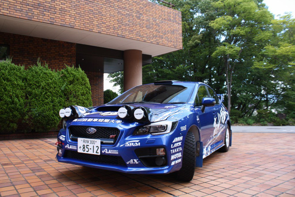 高山自動車短期大学、VAB型WRX STIでラリー北海道へ  #rallyplus https://t.co/TnzcyTmXyl https://t.co/nHO4DexrVt